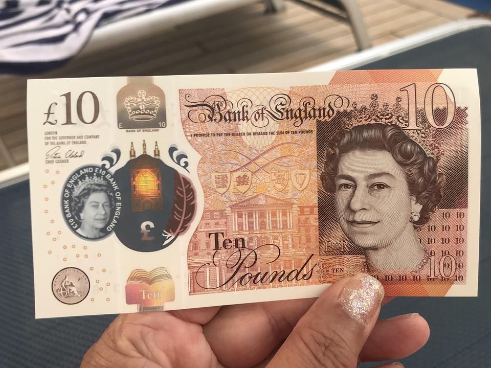 Británie peníze