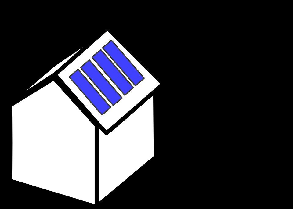 Domek s panely